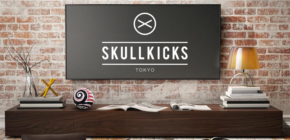 skullkicks,スカルキックス,ボール,ball,tatoo,タトゥー